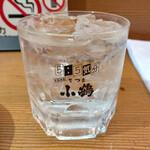 さきと - 九州では、焼酎を飲む人が多いのですが、「さきと 」さんでは日本酒を飲まれる方が多い