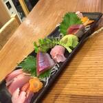 博多 魚助 - 刺身7種盛り 二人前からの注文です