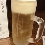 125208081 - しゃりしゃりジョッキの生ビール