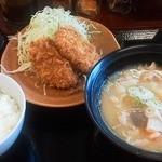 かつや - 120413東京 かつや八王子大和田店 豚汁定食650円