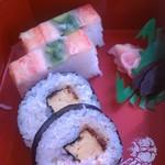 かに道楽 - カニ寿司