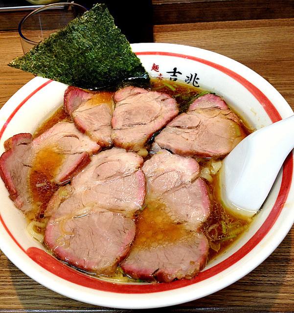 麺壱 吉兆 - 焼豚麺