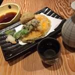 出雲そばマルト - 野菜天盛五種