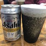 らーめん初代 - アサヒ缶♪
