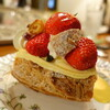 草里 - 料理写真:イチゴのパリブラスト