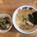 麺屋 勝成 - 料理写真: