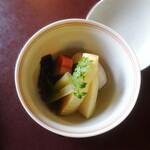 鉢の木 - 新筍の炊き合わせ