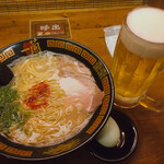 ichiran - 玉子とビールとラーメン