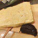 熟成魚場 福井県美浜町 - 甘海老の卵焼き