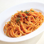 Spaghetti, Tomato Sauce, Seasonal Vegetables