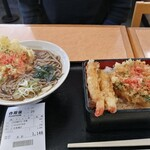 そば処 吉野家 - 天丼セット