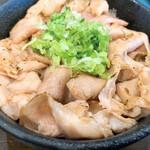 ラゥメン大地 - 炙られたちゃうしゅうご飯       コレで150円は破格すぎる…(゚-゚;)