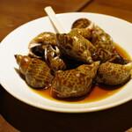 豊栄 - 黒バイ貝の紹興酒漬け