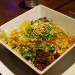 豊栄 - 汁なし黒ゴマ坦々麺