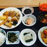 富山マンテンホテル - 料理写真: