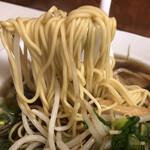 中華そば 萬福 - 麺