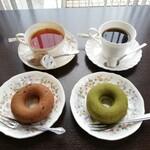 ミュージアムカフェ - 料理写真:ドーナツセット