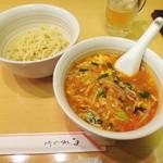 華栄 - 華栄特製ピリ辛つけ麺