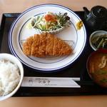 シルク - トンカツ定食