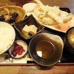 酒菜和の香 - 4.2011.10月 太刀魚の天麩羅定食