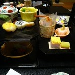 山水館 欣龍 - 料理写真:夕食 先附など