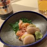 江戸前 びっくり寿司 - 貝刺身