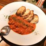ズイジ - じっくり煮込んだトリッパのトマト煮込み