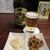 こうぼう - 料理写真:瓶ビール(中瓶700円)とお通し