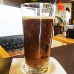 バーバ・スタイル - ビュッフェの アイスコーヒー。     2020.02.09