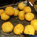 バーバ・スタイル - モチ&チーズのフライ。     2020.02.09