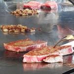 鉄板焼「天王洲」 - お肉♡