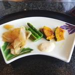 鉄板焼「天王洲」 - 焼き野菜
