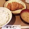とんかつ 豚豚 - 料理写真:ロースカツ定食