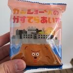 ニューヨーク堂 - ガンショーくんのかすてらあいす(300円)