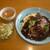 レストランパプリカ - 料理写真:ビーフシチューオムライス(スープ・サラダ付き)