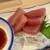 立呑み晩杯屋 - 「マグロ刺し」200円也。税込。