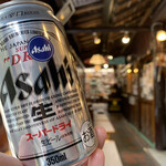 龍頭之茶屋 - 缶ビール350円