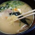和風レストラン水鳥 - 料理写真:とりパイタンラーメン(680円税込)