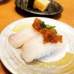 ぼて  - 鯛ポン酢