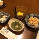 竹嶋 - 前菜