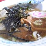 中華料理 翔竜亭 - 醤油ラーメン
