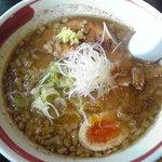 '09・03・03 麺部屋 綱取物語 綱取味噌