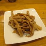 麺屋 Hulu-lu - ツマミのメンマ