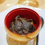 125301216 - ☆古代米のお粥、トリュフ