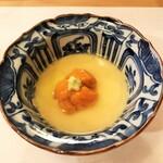 125301589 - 雲丹の茶わん蒸し