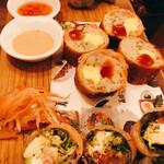 ベトナムビストロasiatico - 前菜の盛り合わせ