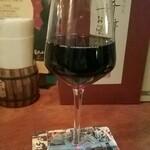 OCEAN breeze - 赤ワイン:550円