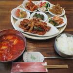 ダイニング - 料理写真:Dining定食!