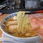 ラーメン而今 - 特製煮干し醤油(1000円)