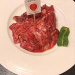 焼肉や 大善 - 松阪牛カルビ